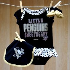 737244bd3 Pittsburgh Penguins Infant Girl Onesie