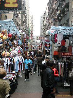 Ladies Market in Mongkok