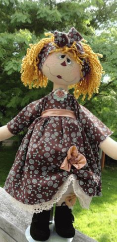 PatternMart.com ::. PatternMart: Annie Melody Ann doll pattern 214 pm