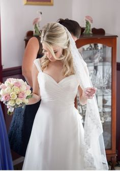 I just listed my Justin Alexander wedding dress for sale. Check it out.