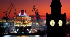 Port Hamburg - Landungsbruecken & Dock