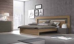 Resultado de imagen para camas king size modernas  espaldares