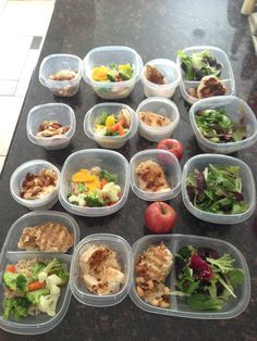 Planning meals out for the week...I need to try this!