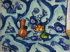 Henri Matisse, Still Life with Blue Tablecloth, 1909