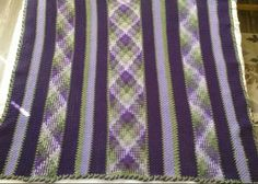 Planned pooling Afghan #1 (I did it for the auction!)11/12/16