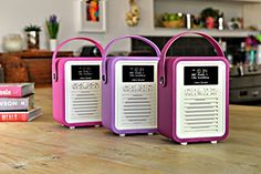 Mums in the Know ( Pink Purple, Hot Pink, Domestic Appliances, Dab Radio, Kitchen Accessories, Vintage Kitchen, Bluetooth, Mini, Orchid