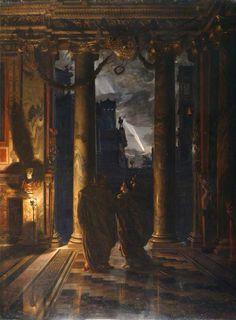'Los Idus de Marzo' (1883) de Edward John Poynter (1836-1919)