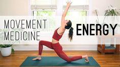 Movement Medicine – Energy Practice – Yoga With Adriene – Exercises and Fitness Iyengar Yoga, Ashtanga Yoga, Vinyasa Yoga, Pilates Reformer Exercises, Yoga Moves, Pilates Yoga, Handstand, Mantra, Free Yoga Videos