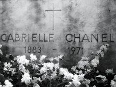 Coco Chanel's grave in Lausanne, Switzerland #CocoChanel Visit espritdegabrielle.com   L'héritage de Coco Chanel #espritdegabrielle