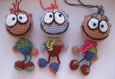 : Catalog Master Classes – MK for knitting toys – Forum admirers amigurumi (knitted toys) Crochet Dolls Free Patterns, Crochet Toys, Free Crochet, Crochet Dollies, Knitting Toys, Amigurumi Patterns, Crochet Keychain, Yarn Tail, Doll Tutorial