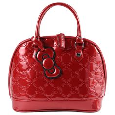 c5e79b92a7ed Tango Red with Red bow. Gina Marie · Hello Kitty Embossed Loungefly Bags
