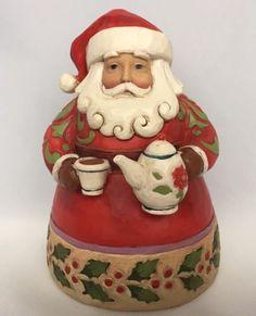 Jim Shore Santa Claus Cup Of Christmas Cheer Heartwood Creek 2011 Figure Teapot