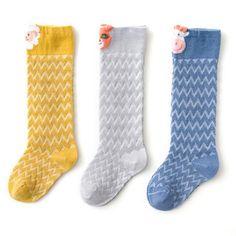 Boys Girls Spring Summer Mesh Socks Car Animals Fashion 0-3 Years Mesh Socks, Baby Socks, Knee High Socks, Animal Fashion, 3 Years, Toddler Boys, Boy Or Girl, Infant, Spring Summer