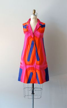1960s Albers dress | graphic mod cotton | $218.00