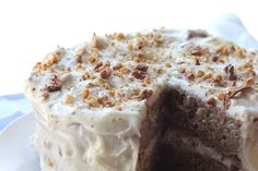 Spice Cake & Toasted Walnut Cream Cheese Frosting recipe on Food52