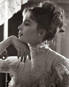 Leslie Caron , portraits for Gigi, 1958