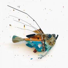 Weird Fish, Fish Design, Fish Art, Wood Carving, Sculpture, Pisces, Wood Sculpture, Wood Carvings
