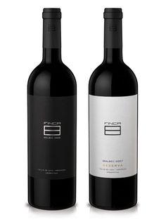 Finca 8 label design
