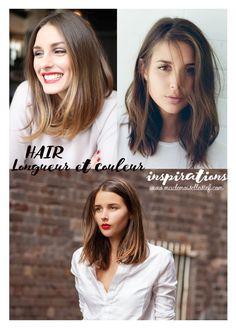 Mademoiselle Stef - Blog Mode, Dessin, Paris | Let's talk about hair cut : Le carré long | http://www.mademoisellestef.com