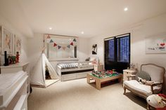 A spacious kids room where imagination can run wild