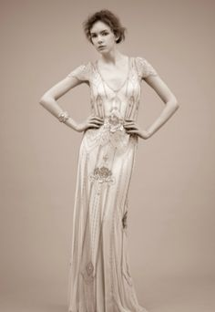 Ethereal Eden Gown by Jenny Packham - Art Deco Weddings