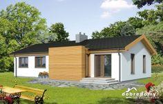 Projekt nowoczesnego domu CERES - zachwyci swą wygodą!