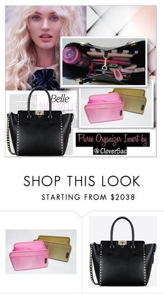"""""""Purse Organizer Insert by CloverSac"""" by cloversac ❤ liked on Polyvore featuring Anja, Valentino, handbag, cloversac and purseorganizerinsert"""