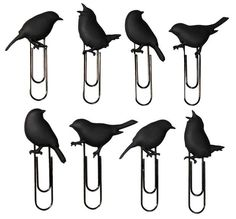 Bird Paper Clips