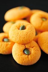 Spicy pumpkin cookies... Great for the 5 senses of Halloween