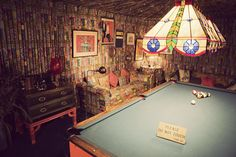 Graceland Memphis,TN- The pool room