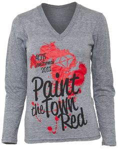 Paint the Town Red? Could be an interesting philanthropy event....