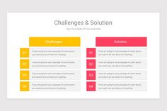 Challenges and Solutions Keynote Template is a professional Collection shapes design and pre-designed template that you can download and use in your Keynote. The template contains 11 slides you can easily change colors, themes, text, and shape sizes with formatting and design options available in Keynote. Shape Design, Keynote Template, Lorem Ipsum, Color Change, Challenges, Diagram, Shapes, Templates, Colors