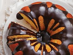 We've put a twist on the British classic: our homemade Jaffa cake uses a bundt pan to create a dessert the whole family can share. Try it tonight.