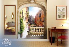 Fotomurales: Pórtico en Venecia #fotomural #mural #pared #decoracion #deco #TeleAdhesivo