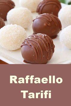 Raffaello Tarifi - Dessert Home Yummy Recipes, Fun Easy Recipes, Easy Desserts, Cake Recipes, Easy Meals, Dessert Recipes, Yummy Food, Tasty, Mason Jar Cookie Recipes