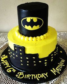 Lego Batman birthday party cake! See more party ideas at CatchMyParty.com!