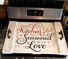 Rustic Italian Home Kitchen Stove Top, Kitchen Tray, Kitchen Ideas, Kitchen Colors, Kitchen Inspiration, Design Inspiration, Kitchen Layout, Kitchen Designs, Diy Kitchen