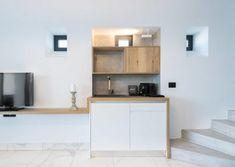 projects | mobel: Η πολυτέλεια που σου αξίζει Shelves, Wood, Kitchen, Table, Projects, Furniture, Home Decor, Log Projects, Shelving