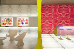 El Deutsche Bank Lounge, Colonia, 2006  Karim Rashid