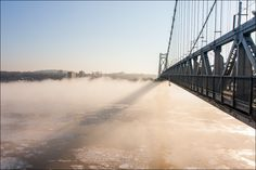 A beautiful shot of the Mid-Hudson Bridge by Joe Turic Photography