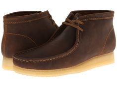 Clarks Wallabee Boot Beeswax Leather - Zappos.com Free Shipping BOTH Ways