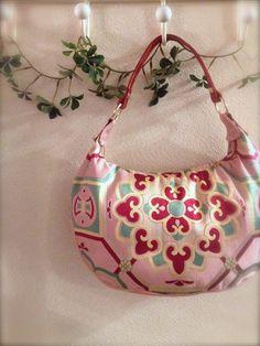 Obi / Kimono / Bag / PK494 Vintage Pink Obi by RummyHandmade, $65.00