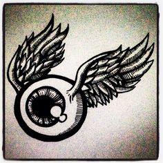 Flying eyeball :D