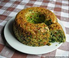 Budín de arroz integral y espinaca. El arroz integral yamaní es uno de los mejores alimentos para consumo diario. Es de fácil digestión y c...