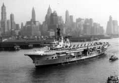 HMS Ark Royal at New York