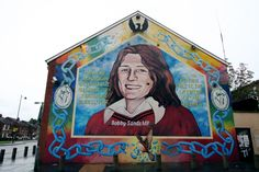 Box Canvas Print (other products available) - Belfast. War mural of Bobby Sands MP in the end corner of the terrace house. Date: 2011 - Image supplied by Mary Evans Prints Online - inch Box Canvas Print made in the UK Belfast Murals, Bobby Sands, Poster Prints, Framed Prints, Canvas Prints, Posters, Wonderful Images, Online Printing, Ireland