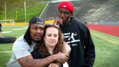 Zipfizz Marshawn Lynch Family 1st - The most comfortable I've ever seen Marshawn in front of a camera.