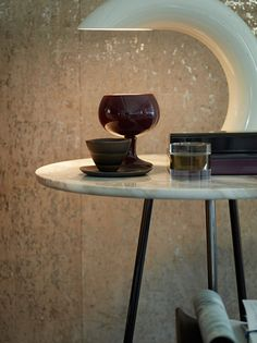 """""""Angle"""" Side Table by Flou with marble top. Design by Rodolfo Dordoni. Available in chrome, gold or bronze finish. Bedroom Furniture, Bedroom Decor, E Design, Interior Design, Marble Top, Bronze Finish, Home Accessories, Chrome, Living Room"""