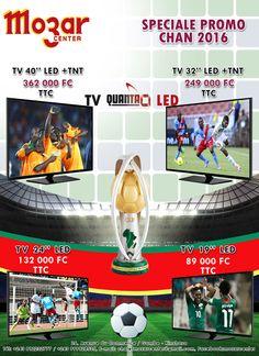 Vivez le CHAN RWANDA 2016 avec la promotion de TV QUANTA LED Promotion, Led