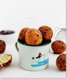 túrófánk Web Design, Cookie Recipes, Muffin, Food And Drink, Sweets, Snacks, Cookies, Baking, Breakfast